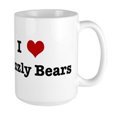 I love Grizzly Bears Mug
