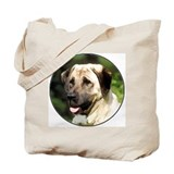 Anatolian shepherd Portrait Tote Bag