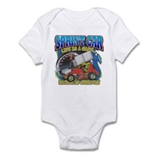 Sprint Car Life Infant Bodysuit