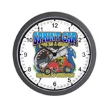 Sprint Car Life Wall Clock