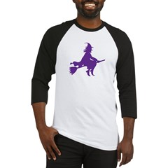 Halloween Witch Baseball Jersey