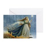 Spring Faerie Greeting Card