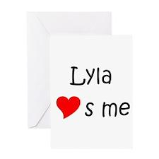 Lyla Greeting Card