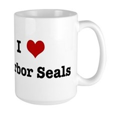 I love Harbor Seals Mug