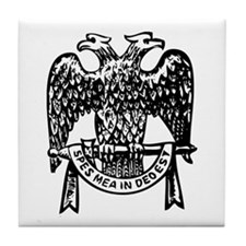 Double Headed Eagle Tile Coaster