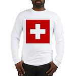 Swiss Cross-1 Long Sleeve T-Shirt