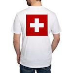 Swiss Cross-1 Fitted T-Shirt