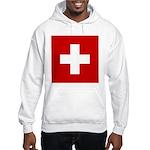 Swiss Cross-1 Hooded Sweatshirt