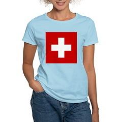 Swiss Cross-1 Women's Light T-Shirt