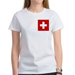 Swiss Cross-1 Women's T-Shirt