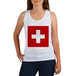 Swiss Cross-1 Women's Tank Top