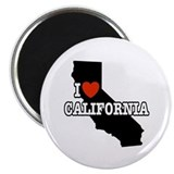 I Love California Magnet