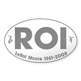 Roi Oval Bumper Stickers