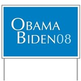 Obama Biden '08 Yard Sign