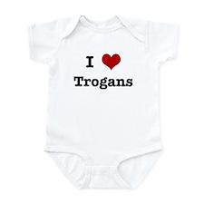 I love Trogans Infant Bodysuit