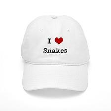 I love Snakes Baseball Cap