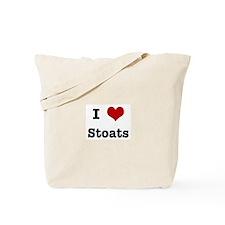 I love Stoats Tote Bag