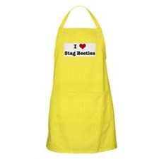 I love Stag Beetles BBQ Apron