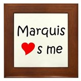 Marquis Framed Tile