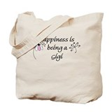 Happiness Is Gigi Tote Bag
