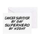 Cancer Survivor Superhero Greeting Cards (Pk of 10