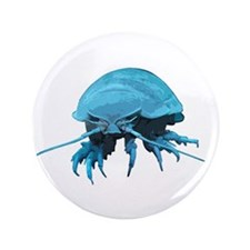 "Giant Isopod 3.5"" Button"