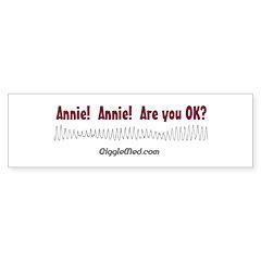 Annie! Annie! Bumper Sticker (50 pk)