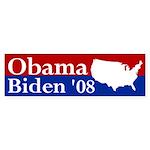 Obama-Biden USA bumper sticker
