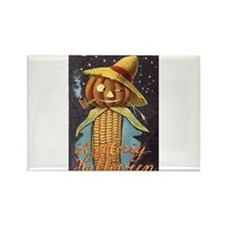 Halloween Scarecrow Rectangle Magnet (10 pack)