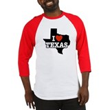 I Love Texas Baseball Jersey