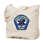 San Diego Fire Tote Bag