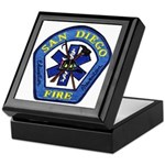 San Diego Fire Keepsake Box