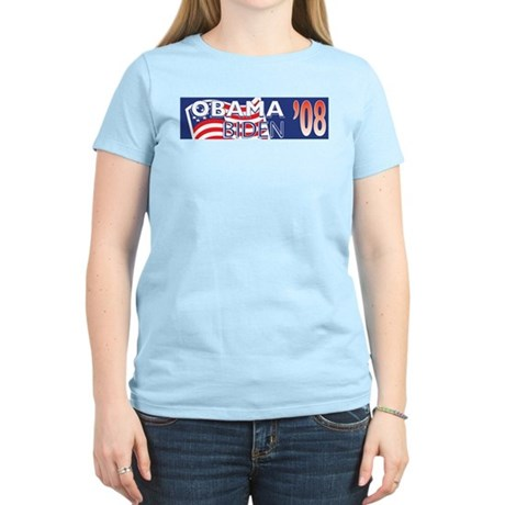 Vote Obama-Biden 2008 Women's Light T-Shirt
