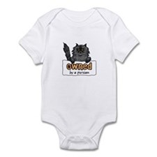 owned by a persian Infant Bodysuit
