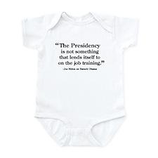 On The Job Training Infant Bodysuit