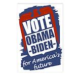 Obama-Biden for America's Future (8 Postcards)