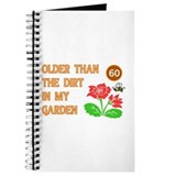 Gardener's 60th Birthday Journal