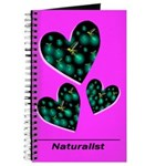 Naturalist Journal Three Firefly Hearts