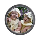 Elise & Carly Wall Clock