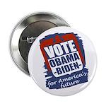 """Obama-Biden America's Future 2.25"""" Button"""