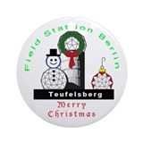 Field Station Berlin Christmas Ornament (Round)