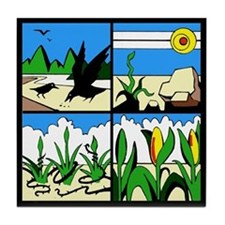 Parable of the Sower Tile Coaster