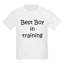 Best Boy in training T-Shirt