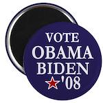 Vote Obama Biden '08 Refrigerator Magnet