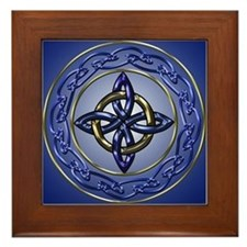 Eternity Knot Framed Tile