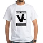 Visual Learner White T-Shirt