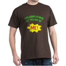 Celebrate My 65th Birthday T-Shirt
