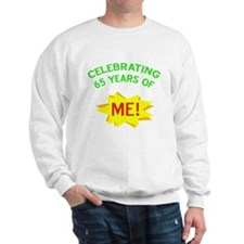 Celebrate My 65th Birthday Sweater