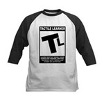Tactile Learner Kids Baseball Jersey