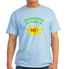 Celebrate My 55th Birthday T-Shirt